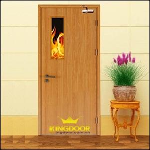 Cửa gỗ chống cháy