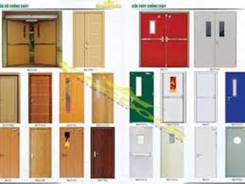 Cửa thép chống cháy dành cho phòng nhà kho giá rẻ