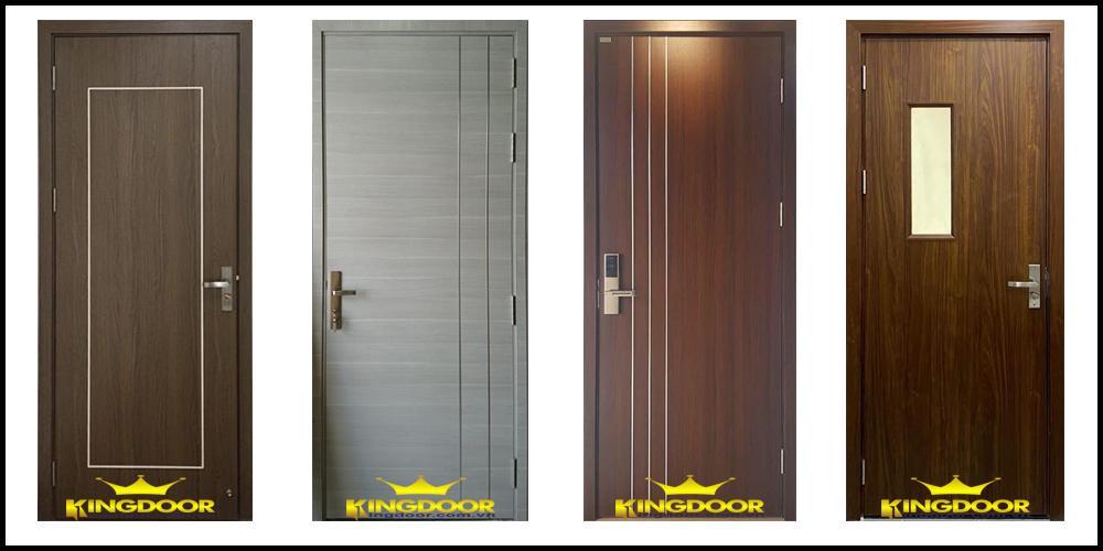 Một số mẫu cửa gỗ công nghiệp MDF.