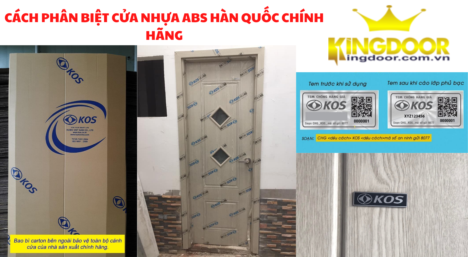 Giá cửa nhựa ABS Hàn Quốc tại Thủ Đức - Cửa nhựa giả gỗ giá rẻ - 7
