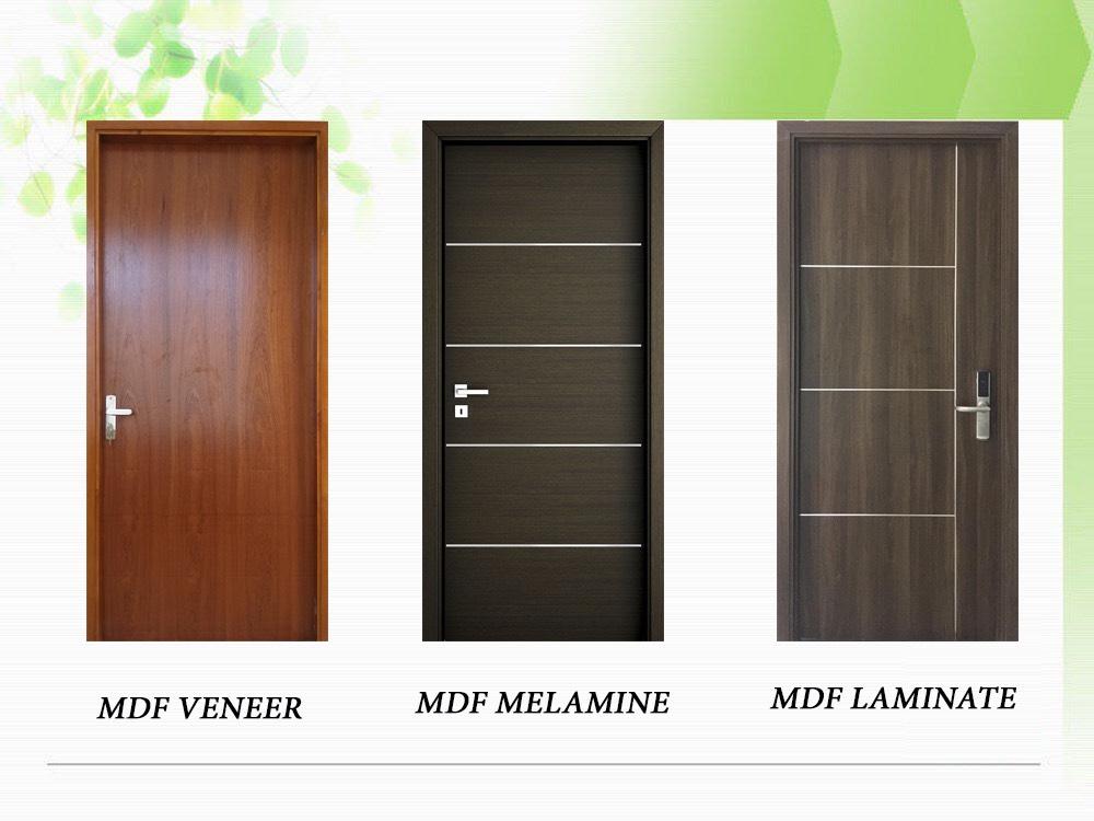 Một số mẫu cửa gỗ công nghiệp MDF - Cửa gỗ phòng ngủ.