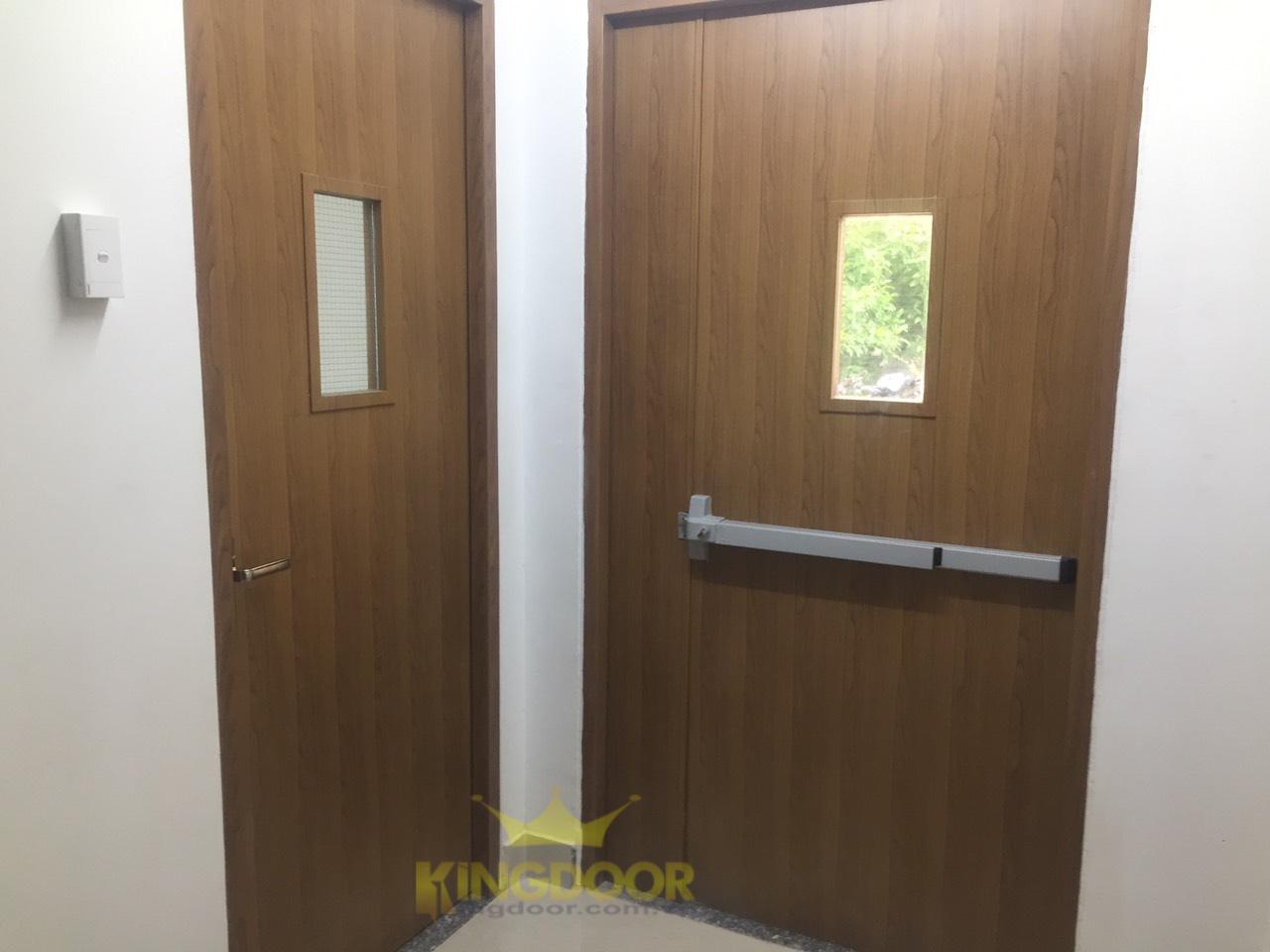 Giá cửa gỗ chống cháy tại Nha Trang - Cửa thoát hiểm KINGDOOR - 5