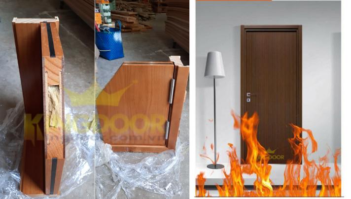 Giá cửa gỗ chống cháy tại Nha Trang - Cửa thoát hiểm KINGDOOR - 2