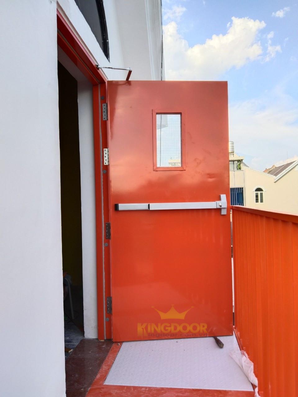 Giá Cửa Thép Chống Cháy Tại Nha Trang - Đạt Tiêu Chuẩn PCCC - 6